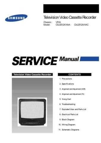 Samsung CXJ2512X Service Manual by download Mauritron #230760