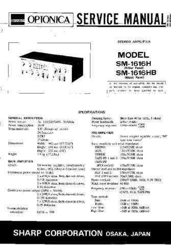 JVC SM1616H-HB SM GB SERVICE MANUAL by download Mauritron #220653
