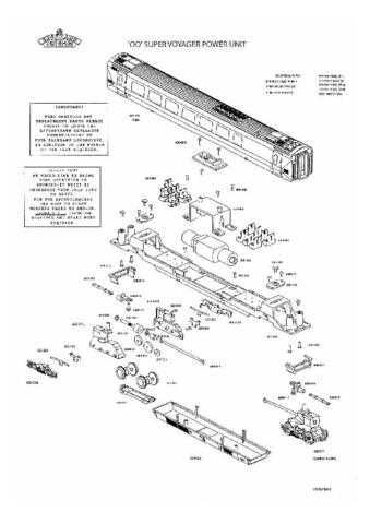 Bachmann Super Voyager Power Unit Information by download Mauritron #206131