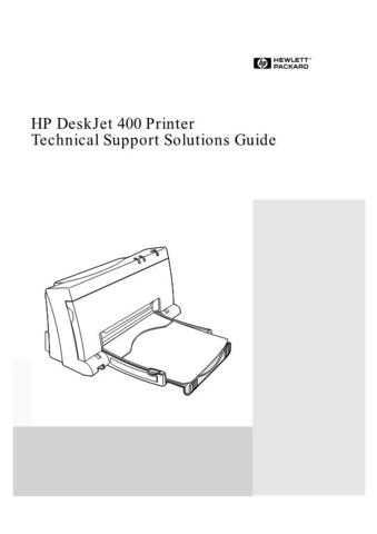 Sharp DESKJET 400 - TSSG Service Manual by download Mauritron #208759