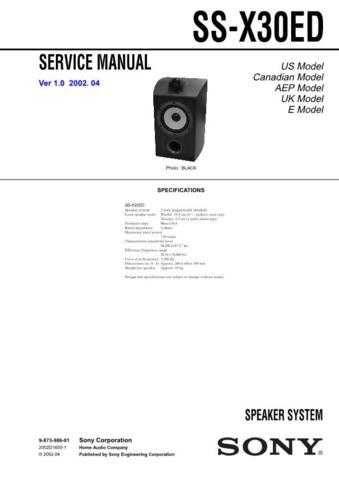 Sony TRV18ETRV116ETRV118E-DCR-TRV16TRV16ETRV18 Technical Information by downloa