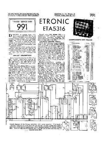 ETRONIC ETA5 by download #108170