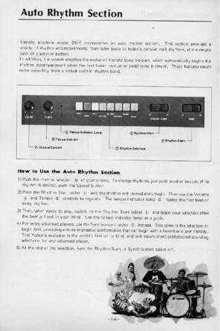 Yamaha BK6E 2 Operating Guide by download Mauritron #246883
