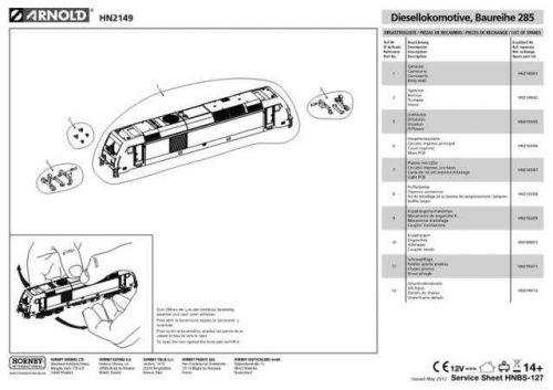 Arnold No.127 Baureihe 285 HN2149 Views etc by download Mauritron #206014