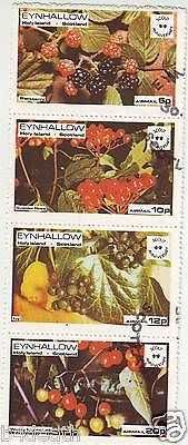 FOREIGN STAMP SCOTLAND FRUIT STAMPS USED ..VERY CHEAP