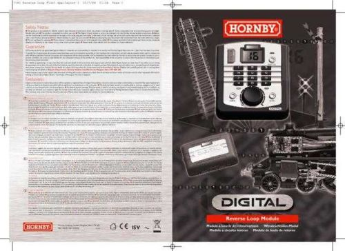 Hornby R8238 Reverse Loop Information by download Mauritron #207195