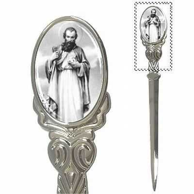 St Jude Thaddeus Patron Saint Of The Impossible Mail Letter Opener
