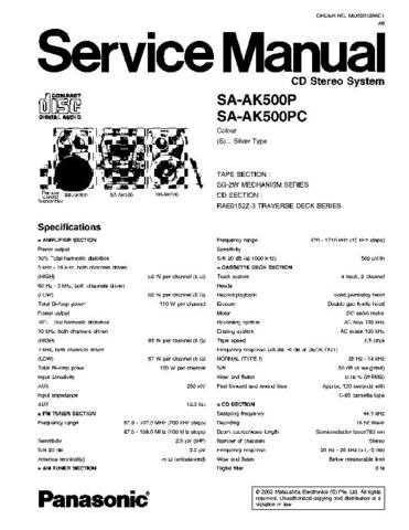 Panasonic sa-ht700ppc-draft sm Service Manual by download Mauritron #268700