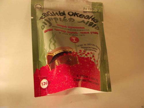 Delicious healthy product with red and black caviar taste health from nature
