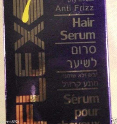 Serum to dry hair. Prevents moisture to hair curling silk look REFLEX