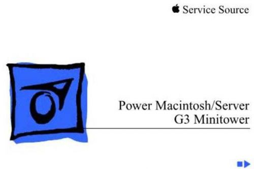 APPLE POWERMAC_SERVER_G3_MINITOW by download #100547