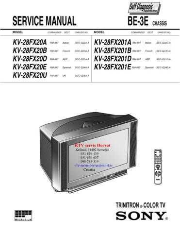 SONY HCD-V818 Technical by download #104962