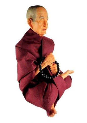 BUDDHIST FAMOUS MONK SOMDEJ TOH STATUE HANDCRAFTED FIBER RESIN FREE SHIPPING