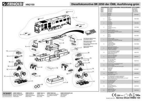 Arnold No.134 BR 2050 der OBB Ausfuhrung grun HN2150 Views etc by download Maur