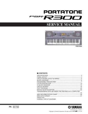 Yamaha PSR-OR700 PL3 E Manual by download Mauritron #259134