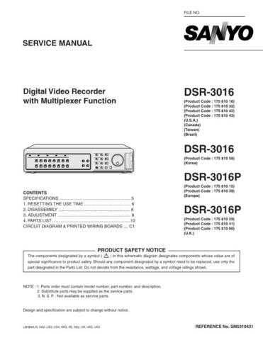 Fisher DSR-3016P Service Manual by download Mauritron #215559