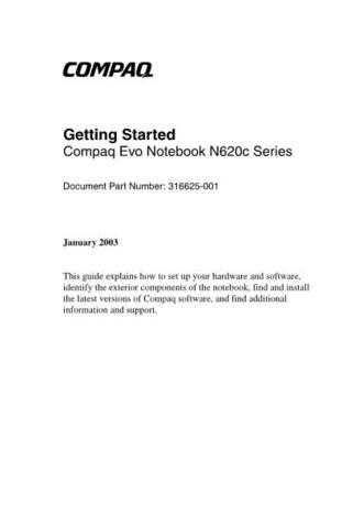 COMPAQ EVO N62 by download #107893