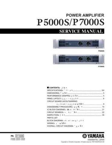 JVC P5000S P7000S M Service Manual by download Mauritron #252595