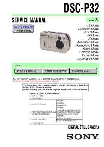 Sony DSC-P51P51M... Service Manual by download Mauritron #240253