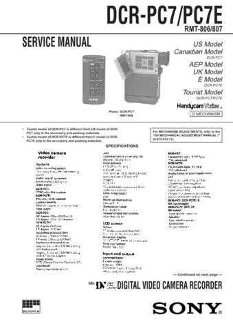 Sony DCR-PC7 Manual-1664 by download Mauritron #228529