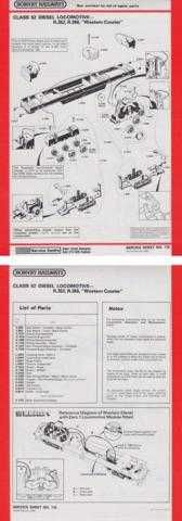 Hornby No.116 Class 52 Western Courier Service Sheets by download Mauritron #20