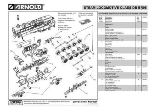 Arnold No.056 Class DB BR95 HN2006 Views etc by download Mauritron #205968
