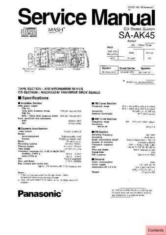 Panasonic SA-BT100EE by download Mauritron #268666