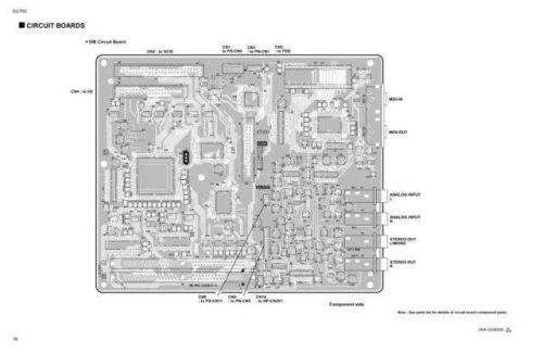 Yamaha SREV1 RC SREV1 CB1 E Manual by download Mauritron #259497