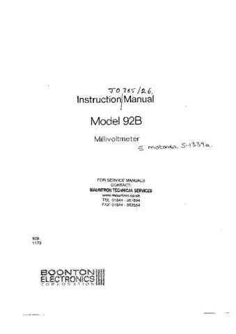MOTOROLA 92B COMBINED (13476) by download #108889