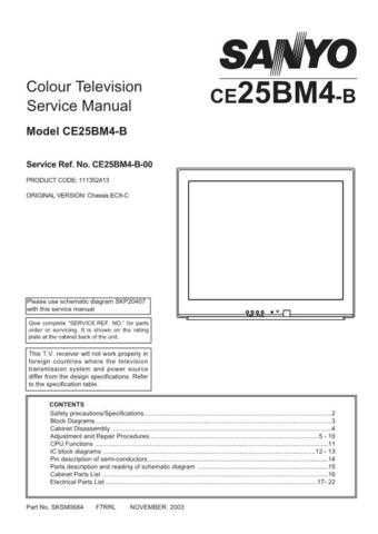 Fisher CE25BM4-B-00 SM Service Manual by download Mauritron #214479