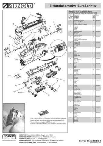 Arnold No.003 EuroSprinter HN2093 Views and Information by download Mauritron #
