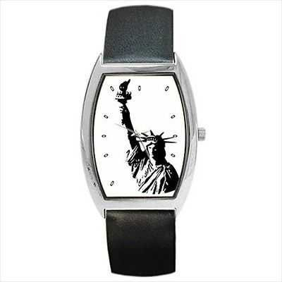 Statue Of Liberty Art Unisex Wrist Watch
