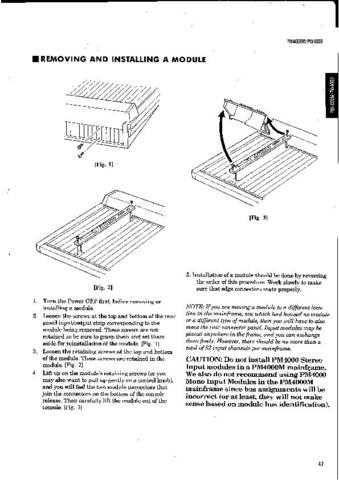 Yamaha PM4000 PL3 C Manual by download Mauritron #258666