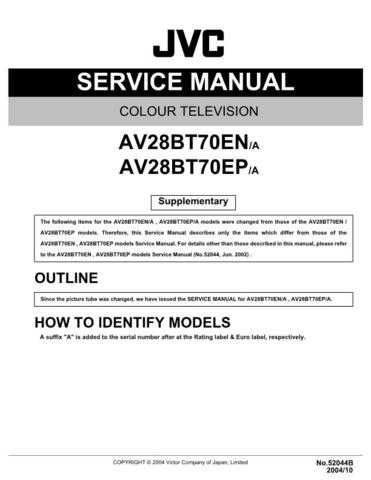 JVC AV-N29430part Service Manual Schematic Circuit. by download Mauritron #270026