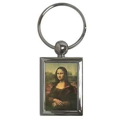 Mona Lisa Leonardo Da Vinci Art Key Chain Keychain