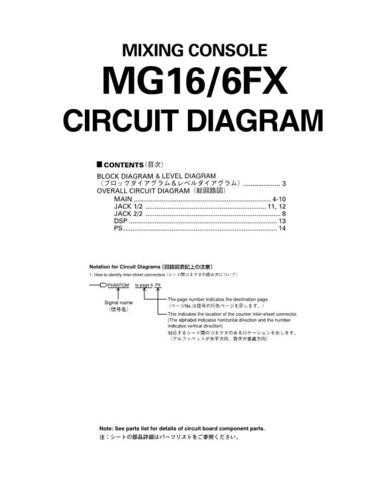Yamaha MG124 164 PCB6 C Manual by download Mauritron #257741