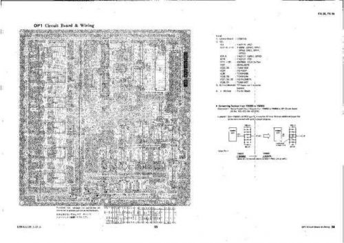 Yamaha FS1R P14 PCB C Manual by download Mauritron #257035