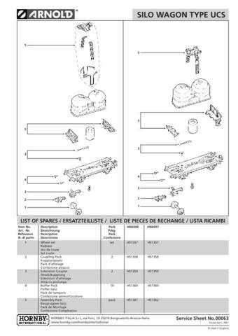 Arnold No.063 Silo Wagon Type UCS HN6007 Views etc by download Mauritron #20598