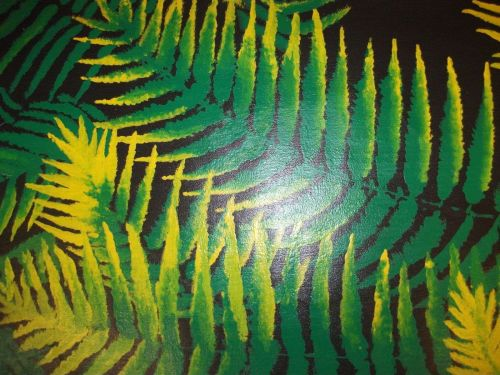NZ native Fern Painting canvas . finished off by hand. original.sale ends 9th ma