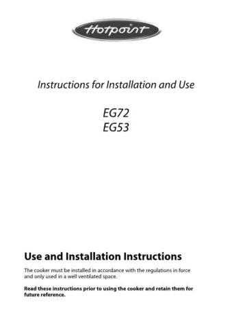 Hotpoint EG53 19504160600 Operating Guide by download Mauritron #311971