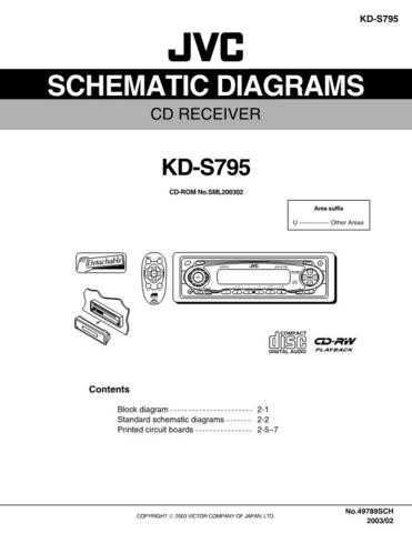 JVC KD-S790 schem Service Manual by download Mauritron #282209