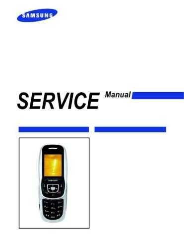 Samsung SGH-E350E Mobile Phone Service Manual by download Mauritron #306326