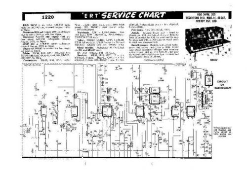 RGD. R57. Vintage Wireless. Service Data. by download Mauritron #306218