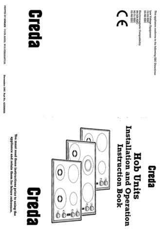 Creda HB42398 Operating Guide by download Mauritron #312881