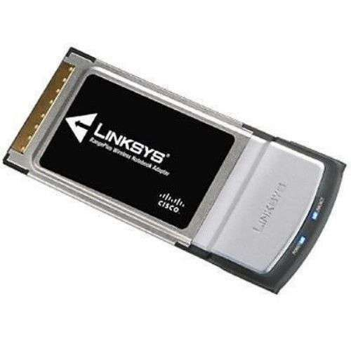 new Linksys WPC100 Range PLUS Wireless notebook laptop card MIMO adapter PCMCIA