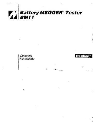 AVO BM-222 Operating Guide by download Mauritron #308959
