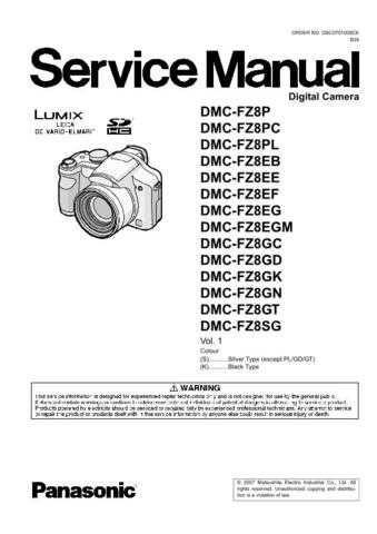 Sharp DMC-FZ8PL Manual by download Mauritron #298300