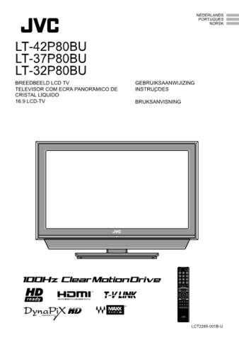 JVC LCT2285-001B-U NE Operating Guide by download Mauritron #293838