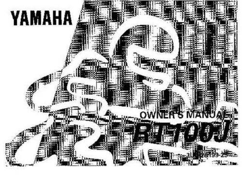 Yamaha 3UL-28199-23 Motorcycle Manual by download #334179