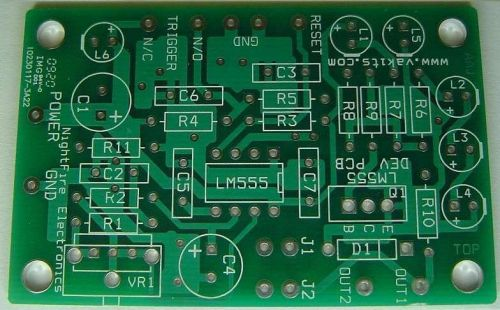 LM555 Timer IC Kit with Development PCB (#1710)